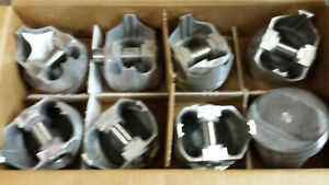 400 Chevy Pistons Forged 1803p L2311f Standard Bore Dome Set Of 8