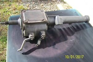 1964 Mustang Falcon 3 Speed Transmission