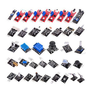 For Arduino 37 In 1 Sensor Kit Joystick photosensitive sound Detection obstacle
