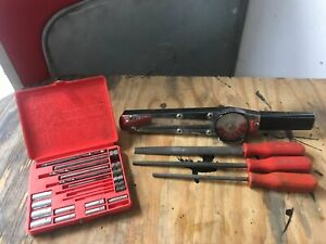 Mac Tools Torque Wrench Files Extractor Kit Lot