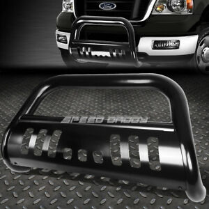 For 99 07 Ford Superduty excursion Suv Black 3 bull Bar Push Bumper Grille Guard