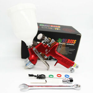 Devilbiss Gti Pro Lite Red 1 3mm Nozzle Te20 Car Paint Tool Pistol Spray Gun