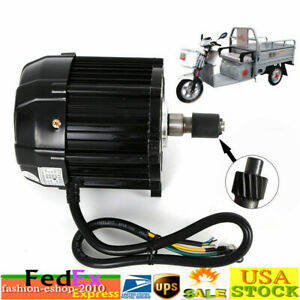 1000w 48v Dc Brushless Motor Electric Tricycle Motor 300rpm Disc Brake hub Brake