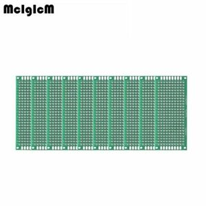 Mcigicm 200pcs Double Side Prototype Pcb Diy Universal Printed Circuit Board