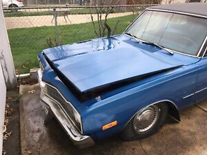 1973 Dodge Dart Custom 4 Door Frame Rusted Out Good For Parts