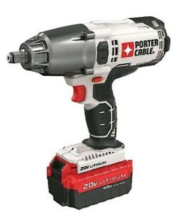 Porter Cable 20v 1 2 Cordless Impact Wrench Free Shipping Battery Inc