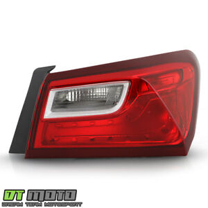 2016 2019 Chevy Malibu Non Led Tail Light Lamp Outer Replacement Passenger Side