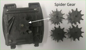 U turn Vending Parts Coin Mech Spider Gears set Of 4