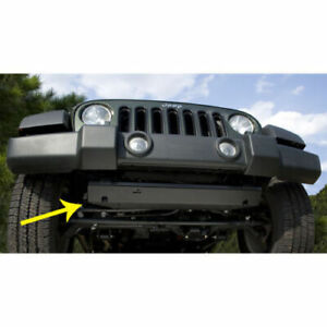 Rugged Ridge Front Bumper Skid Plate For Jeep Wrangler Jk 2007 To 2018 18003 30