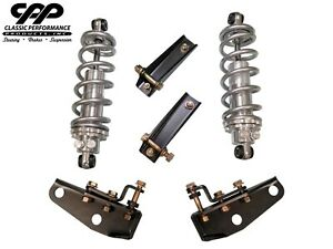1963 72 Chevy C10 Truck Cpp Viking Rear Coilover Conversion Kit 3 4 Drop