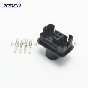 4pin Vw Auto Housing Plug Wiring Harness Cable Male Connector Of 1h0973734