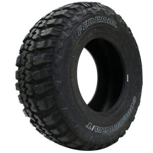 2 New Federal Couragia M t Lt33x12 50r20 Tires 33125020 33 12 50 20
