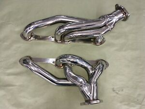 Thornton G Body Sbc Custom Fit Headers 2 1 2 Exit Flange Chevy 350
