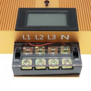 90 450v 80kw Industrial Three Phase Intelligent Electricity Saving Box With Led
