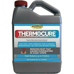 Thermocure Coolant System Rust Remover Safely Removes The Rust From Cars 32 Oz
