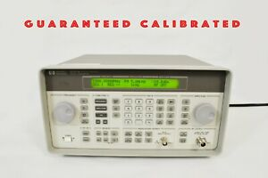 Hp 8647a Synthesized Signal Generator 250 Khz 1000 Mhz Guaranteed Calibrated
