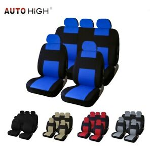 Auto Seat Cover For Car Sedan Truck Van Universal Front Rear Seat Covers 5 Color