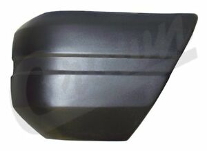 Driver Front Black Bumper End Cap For Jeep 1984 To 1990 Xj Cherokee Crn 52000179