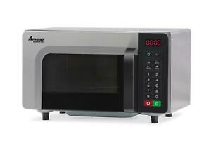 Amana Rms10tsa 1000w Commercial Low Volume Microwave Oven W Touch Controls