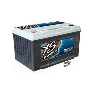 Xs Power 12v Agm 3900 Max Amp Car Audio Battery D6500