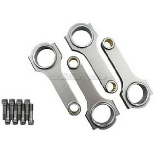 Cxracing 4pcs Forged H Beam Connecting Rods Bolts For Integra Gsr B18c 5 433