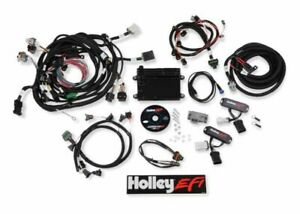 Holley Efi Hp Fuel Injection Ecu Harness Kit Bosch Ford 4 6 5 4 4v 550 617