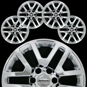 4 Fit Nissan Frontier 2014 2020 Chrome 16 Wheel Skins Hub Caps Alloy Rim Covers