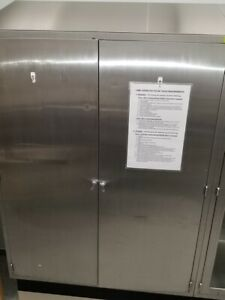 Stainless Steel Cabinet With Solid Door