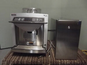 Bunn Espress Tiger Series Espresso Machine Grinder Fridge M1194x