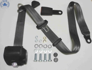 Three Point Automatic Seat Belt Mg Mga Mgb Td And Others Grey 12cm
