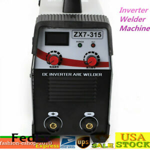 Mini Tig Welder Arc Welding Machine Inverter Soldering Machine 20 250a 110 560v