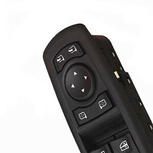 Black Power Window Master Switch For Renault Fluence 254000006r 7700817337