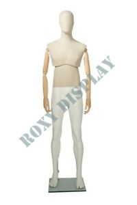 Male Mannequin Flexible Arms Dress Form Display mz mflx01