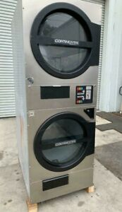 American Dryer Adc Adg330d Stack Dryer 30lb Stainless S n 472461cc ref