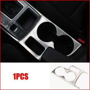 For Mazda Cx 5 Cx5 2015 Chrome Car Interior Water Cup Holder Panel Cover Trim