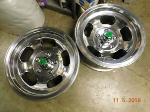 Polished Appliance 15x7 Slot Mag Wheels Chevelle Camaro 442 Gto Ss Chevy Van Gto