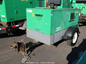 2012 Gorman rupp Pa4e71c 3tnv88 su 4 Towable Diesel Water Pump Prime Aire Quiet
