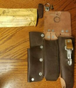 Lineman Tool Pouch Buckingham Leather New