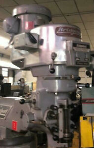 Recondition Bridgeport Milling Machine Replacement Head 2hp R8 Spindle