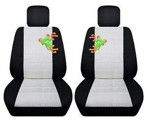 Front Set Car Seat Covers Fits 1997 2020 Toyota Camry With Frog Design