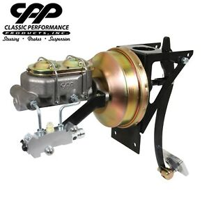 1948 52 Ford F 1 F1 Truck 8 Power Brake Booster Conversion Kit 4 Wheel Disc