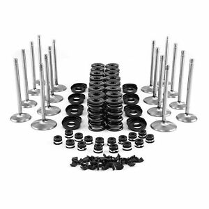 Bbc Chevy Stainless Steel Valves Springs Retainers For Aluminium Heads Full Set