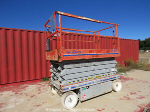 2010 Skyjack Sjiii4632 32 Electric Scissor Lift Man Aerial Platform Extension