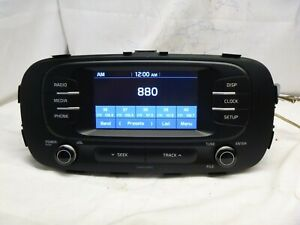 17 18 Kia Soul Radio Mp3 Sirius Player Bluetooth 96180 B2360ca Cc0012
