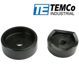 Temco 2 1 2 Conduit Punch And Die For Hydraulic Knock Out Driver 3 4 16 Thread