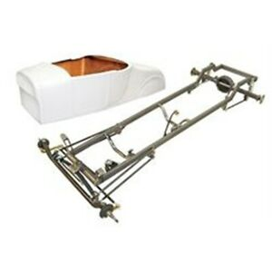 Deluxe 1927 T Bucket Frame Kit Std Body Bed Unchanneled Chevy Chrome