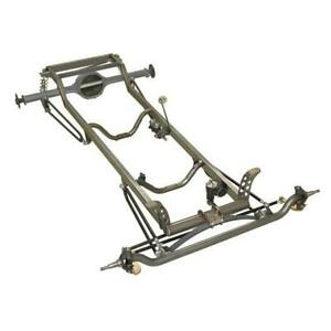 Speedway Nostalgia 1923 T Bucket Frame Assembly Chevy Spindles Chrome