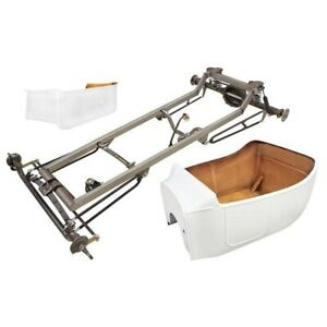 1923 T Bucket Frame Kit Std Body Bed Channeled Ford Spindles Plain