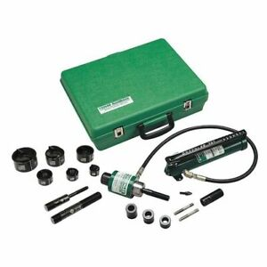 Greenlee 52084921 Hydraulic Punch Driver Set 10 Ga Steel
