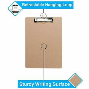 Clipboards set Of 30 By Office Solutions Direct Eco Friendly Hardboard Clip